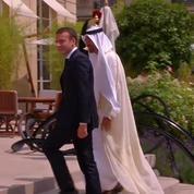 Emmanuel Macron reçoit le prince héritier des Emirats Arabes Unis