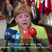Merkel juge comme un « bon début » les discussions avec Theresa May