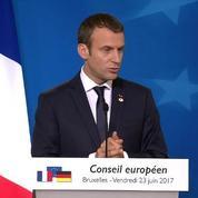 Emmanuel Macron : «J'ai dit des choses en tête a tête avant de les assumer publiquement.»
