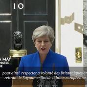 Theresa May formera un nouveau gouvernement pour mener à bien le Brexit