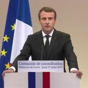Migrants : Macron annonce la création des hotspots en Afrique pour traiter les demandes d'asiles