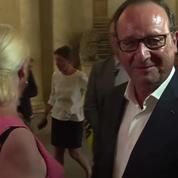 Première prise de parole publique pour François Hollande