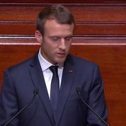 Macron à Versailles : «Tous les ans, je reviendrai devant vous pour vous rendre compte»