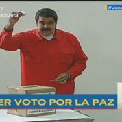 Assemblée Constituante : le président vénézuélien Maduro a voté