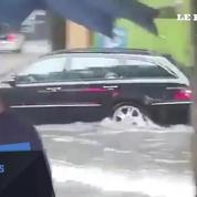Des pluies diluviennes paralysent Berlin