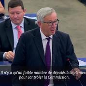 «Vous êtes ridicules» : Jean-Claude Juncker fustige les eurodéputés