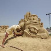 Bulgarie : un festival de sculptures de sable monumentales