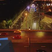 Moscou : des milliers de personnes à une course nocturne