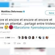 Attentat de Barcelone : Matthieu Delormeau, Camille Cerf, Nagui… Les stars réagissent
