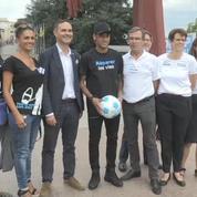 Neymar ambassadeur Handicap International