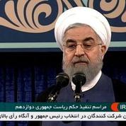 Le président iranien Hassan Rohani entame son second mandat