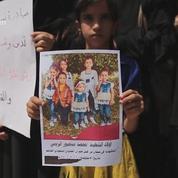 Sanaa : funérailles des victimes d'un raid aérien