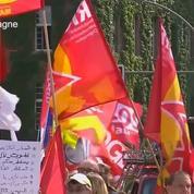 En Allemagne, des militants s'opposent au défilé de groupuscules nazis