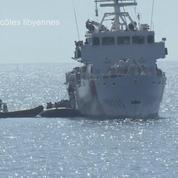 Des migrants secourus au large des côtes libyennes