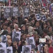 Manifestation en Argentine après la disparition d'un activiste