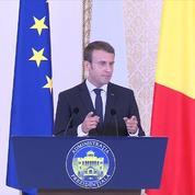 Travailleurs détachés : suivez l'allocution d'Emmanuel Macron en Roumanie