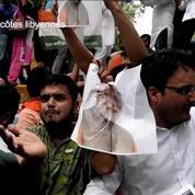 Inde : manifestations après l'attaque du leader de l'opposition