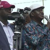 Kenya : le candidat de l'opposition appelle à ne pas aller travailler lundi