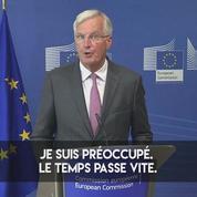 Michel Barnier sur le calendrier du Brexit : « Je suis préoccupé »