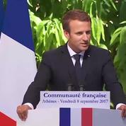 Macron ne veut rien céder «aux fainéants, aux cyniques et aux extrêmes»