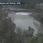 Maria : un barrage cède à Porto Rico, 70.000 personnes évacuées
