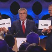 Le président du comité olympique annonce les villes accueillants les JO 2024 et 2028