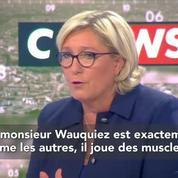 Marine Le Pen : Laurent Wauquiez c'est un peu du sous-Sarkozy