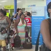 Irma : les premiers sinistrés de Saint-Martin arrivent en Guadeloupe