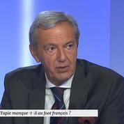 Daniel Bilalian : «Bernard Tapie, c'est le Jean-Luc Mélenchon du football»