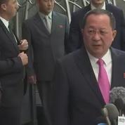 Le ministre nord-coréen des Affaires étrangères accuse Donald Trump de déclarer la guerre