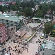Entre urgence et solidarité, les secours s'organisent après le séisme au Mexique