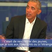 Barack Obama fait une visite surprise dans un lycée