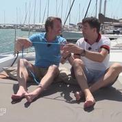 Les incroyables vacances de Stéphane Plaza et Stéphane Rotenberg : les noeuds marins