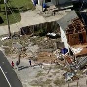 Des images aériennes de Vilano Beach après le passage d'Irma montrent l'étendue des dégats