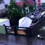 Irma : 95% de l'île détruite