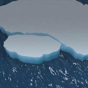 Antarctique : un immense iceberg s'est détaché du continent