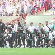 Sportifs genou à terre pendant l'hymne national : la polémique enfle pour Donald Trump