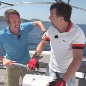 Les incroyables vacances de Stéphane Plaza et Stéphane Rotenberg : la voile