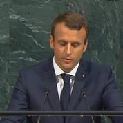 Rohingyas : à l'ONU, Macron s'oppose au «nettoyage ethnique»