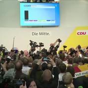 Élections législatives en Allemagne : les partisans de la CDU exultent à l'annonce des résultats