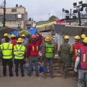 Mexico: dernières heures cruciales pour retrouver des survivants