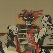 Deux nouvelles oeuvres de Banksy sur les murs de Londres