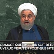À l'ONU, Hassan Rohani riposte contre le « voyou » Donald Trump