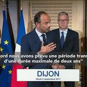 Édouard Philippe confirme la disparition du RSI
