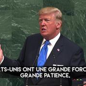 À l'ONU, Trump menace de «détruire totalement la Corée du Nord»