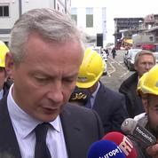 STX: Bruno Le Maire vient rassurer les salariés à Saint-Nazaire