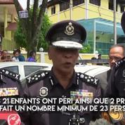 L'incendie d'une école religieuse en Malaisie fait 24 morts