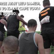 StrongmanRun : course d'obstacle dans la boue en Afrique du Sud
