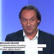 Benjamin Grange à propos de Richard Ferrand: «C'est le plus critiqué de l'ensemble des députés LREM»