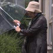 Les japonais bravent la pluie pour se rendre au bureau de vote